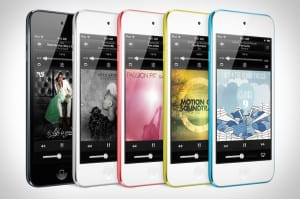 Colores del iPod Touch 5