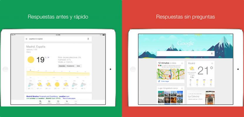 Google para iOS se actualiza mejorando la función Ok Google