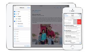 Mail de iOS 7