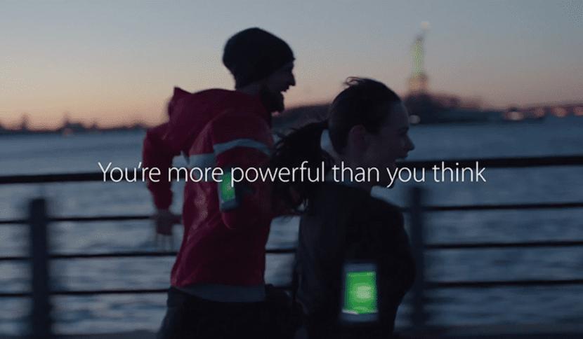 Lema del anuncio del iPhone 5S