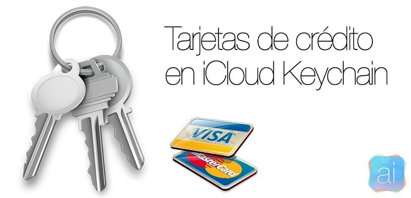 iCloud Keychain - Tarjetas de crédito