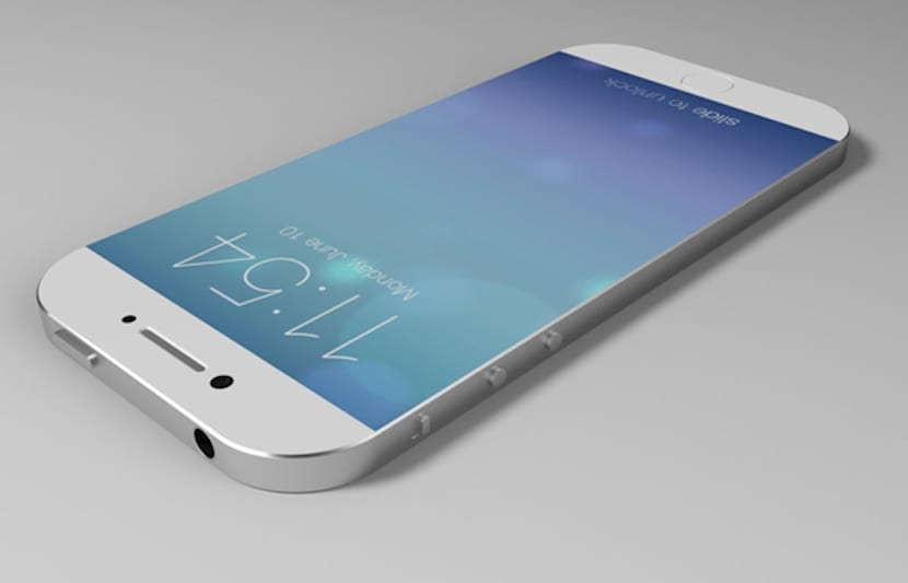iPhone 6 concepto mockup