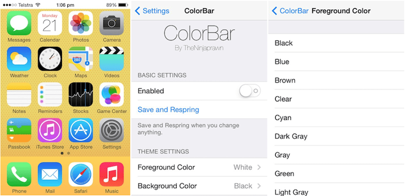 Tweak ColorBar