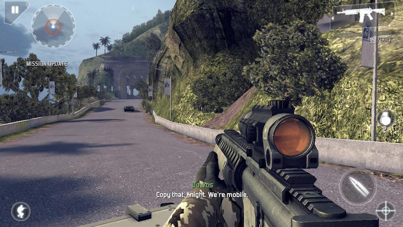 Captura de Modern Combat 5