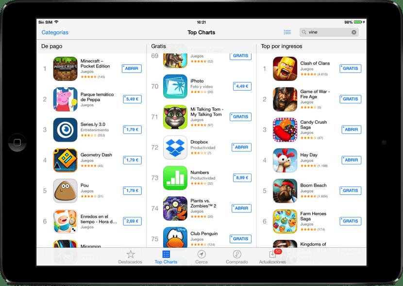 App pago y gratis