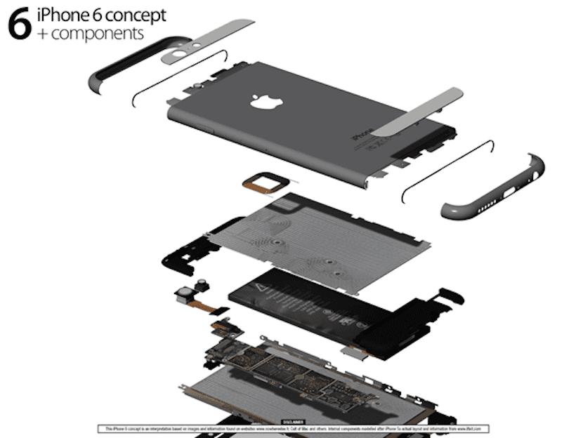 iPhone 6 componentes 2