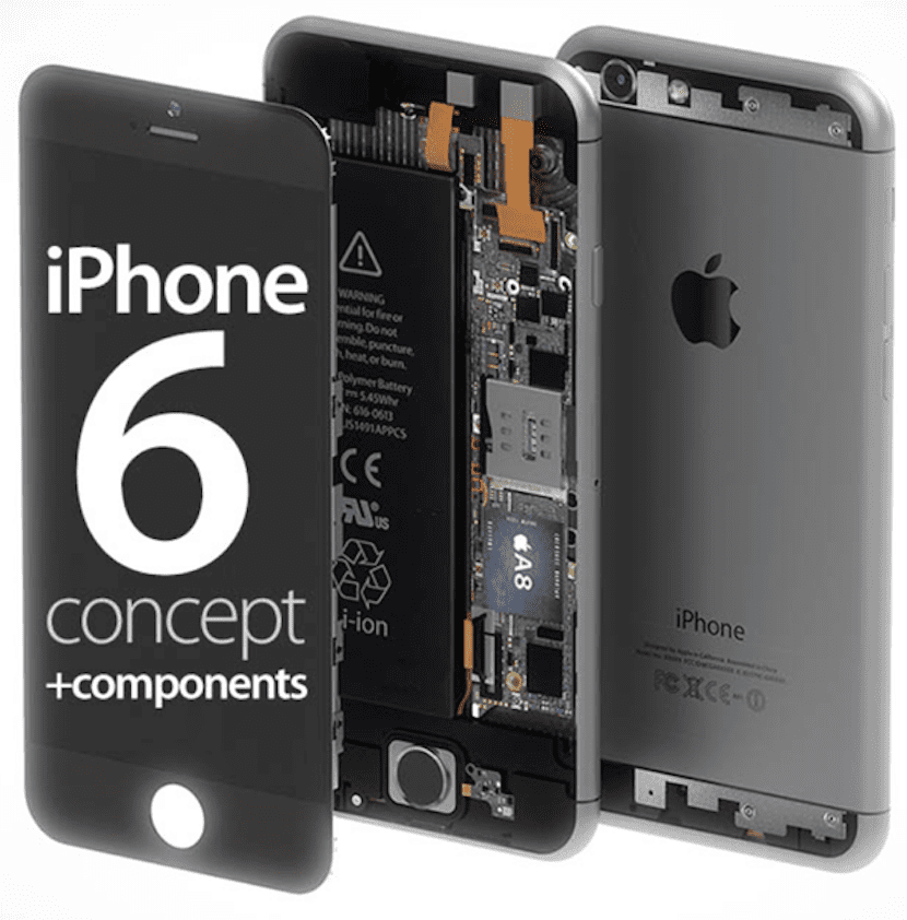 iPhone 6 componentes