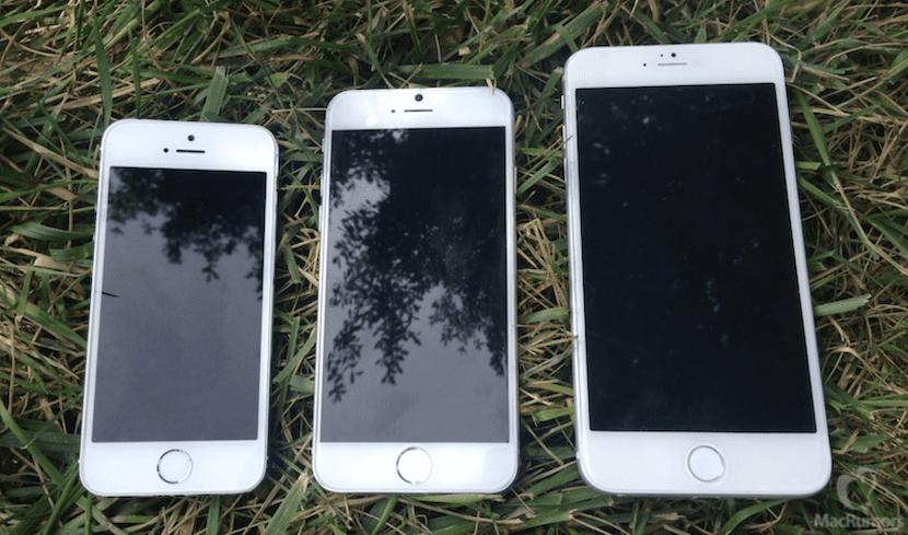 Tamaños de pantalla del iPhone 6