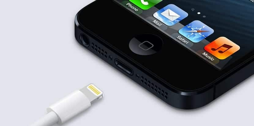 Cable de carga del iPhone