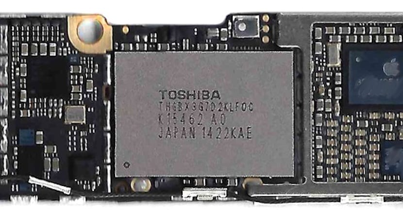 Placa base iPhone 6