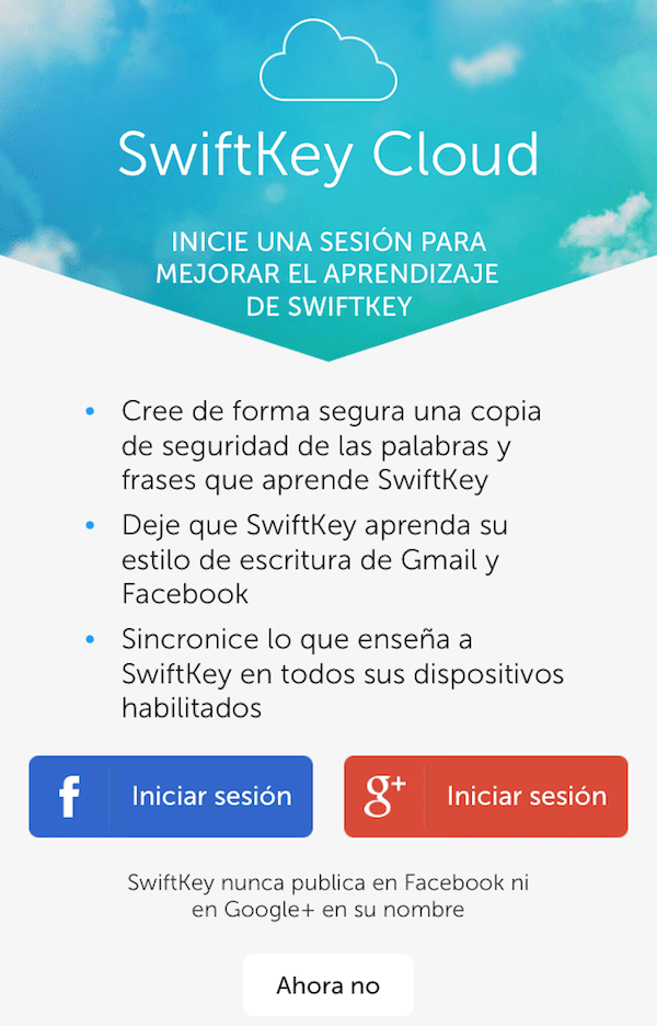 SwiftKey-cloud