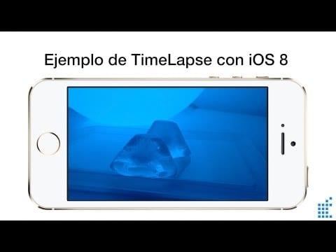 Cómo usar el modo Time Lapse de iOS 8