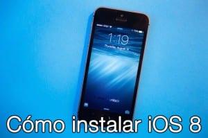 Cómo instalar iOS 8