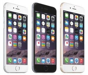 iPhone 6 Plus pantalla