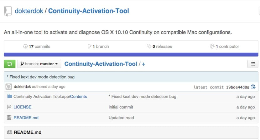 Continuity Activation Tool