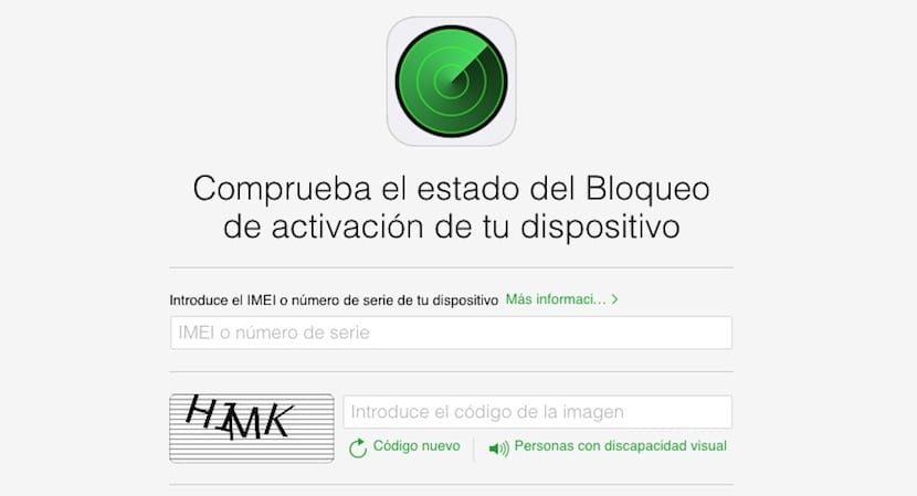 Bloqueo del iPhone online