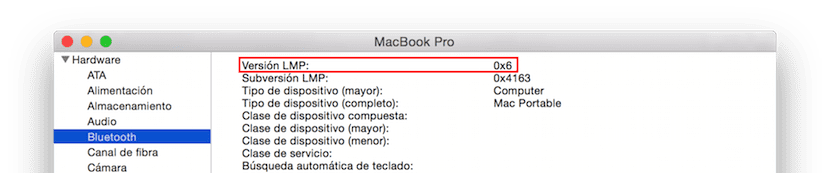 Captura de pantalla mostrando Informe del Sistema