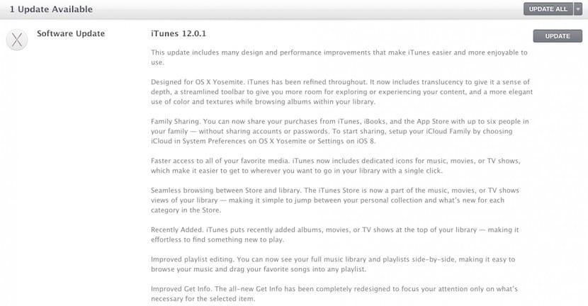 iTunes 12 0 1