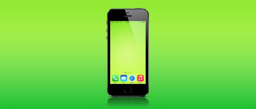 iOS 8 sin iconos