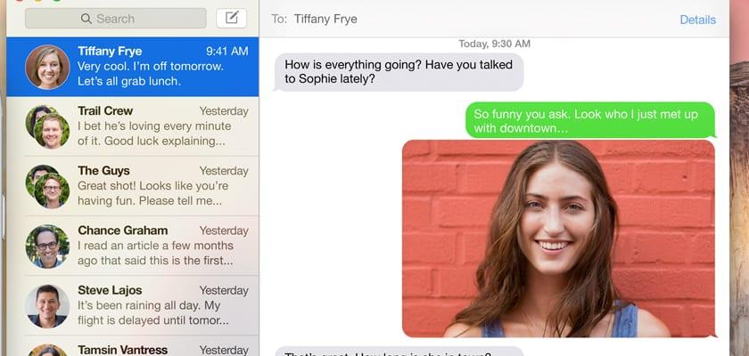 mensajes de texto mac