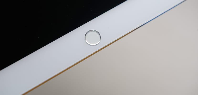 Detalle del botón Touch ID del presunto nuevo iPad