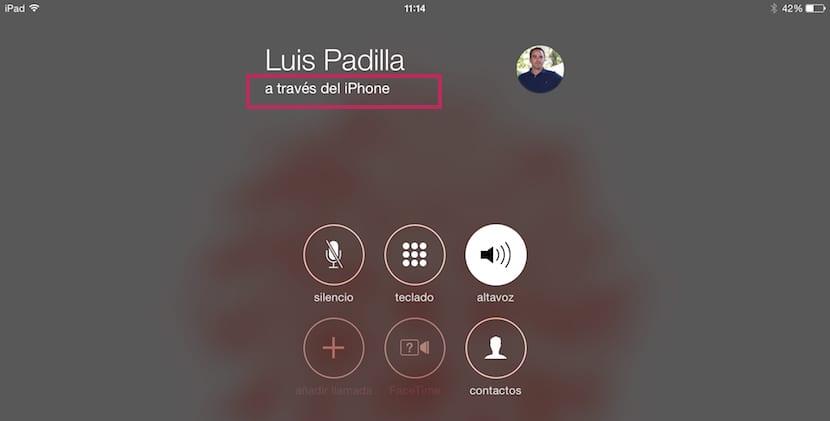 Cómo realizar llamadas desde el iPad