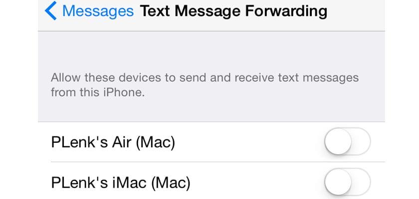 sms iOS 8.1