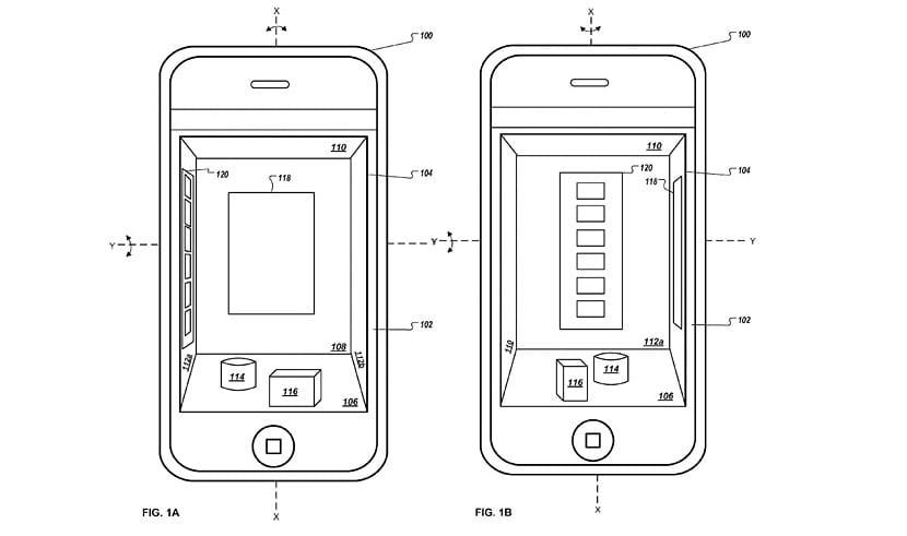 Apple 3D Patente