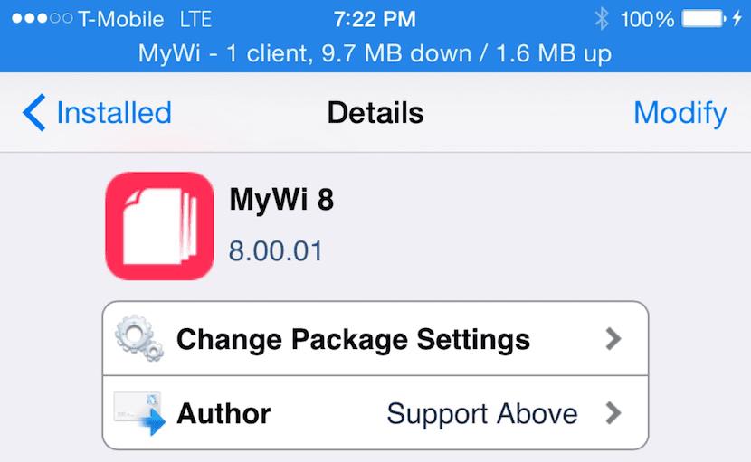 MyWi iOS 8
