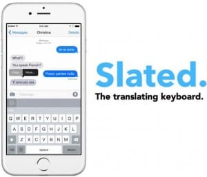 Slated teclado iPhone