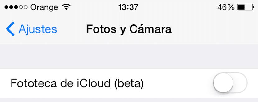 Fototeca iCloud Web