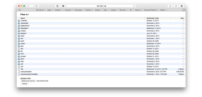 iFile-Server-Mac