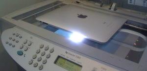 Imprimiendo un iPad