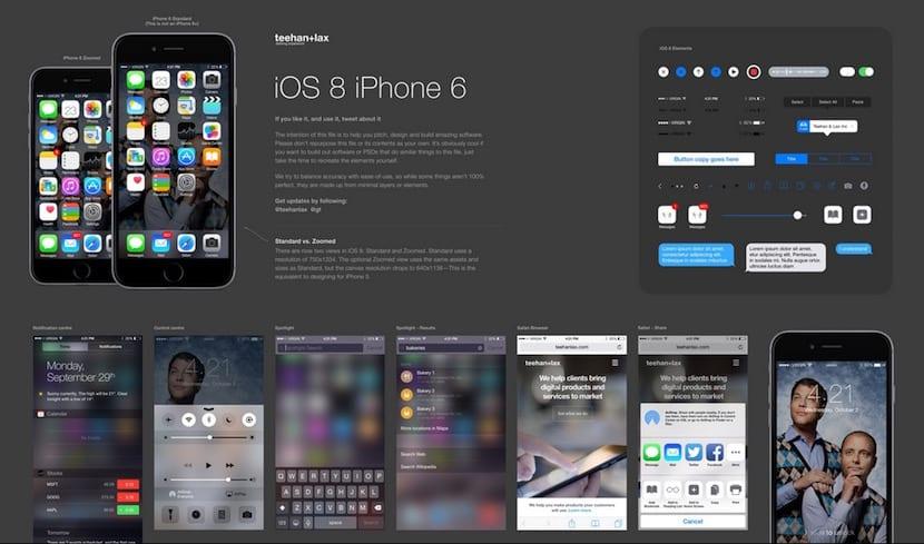 Descargar interfaz iOS 8