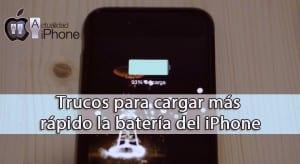 Trucos para cargar más rápido el iPhone