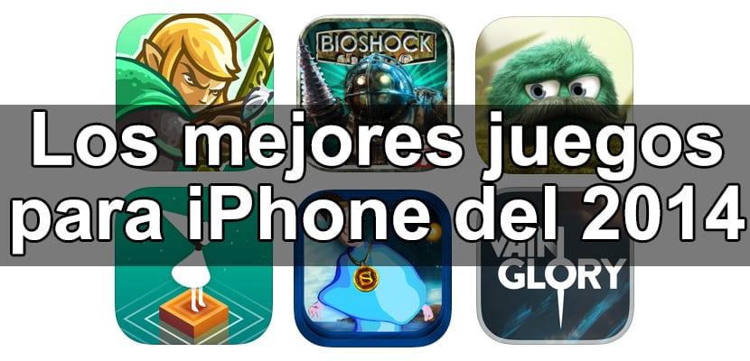 Mejores juegos para iPhone del 2014