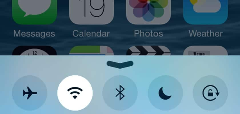 problemas de Wifi en iOS 8