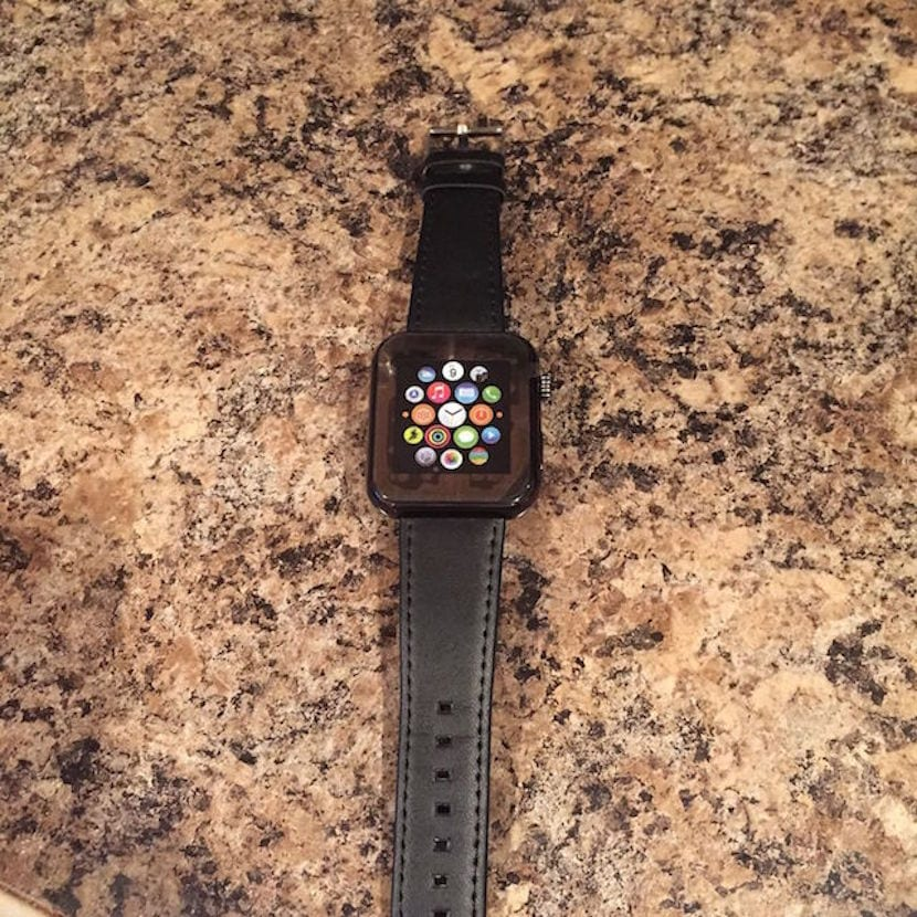 Reloj falso Apple
