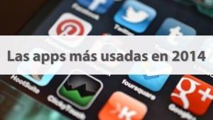 Apps más usadas en 2014