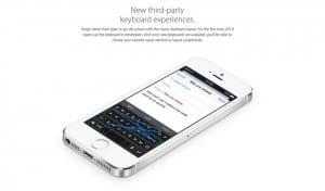 iOS 8 teclados
