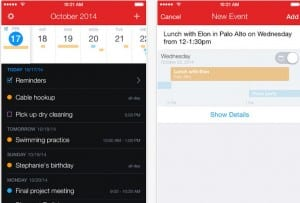 mejores apps calendario iOS