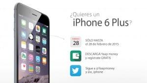 Sorteo iPhone 6 Plus