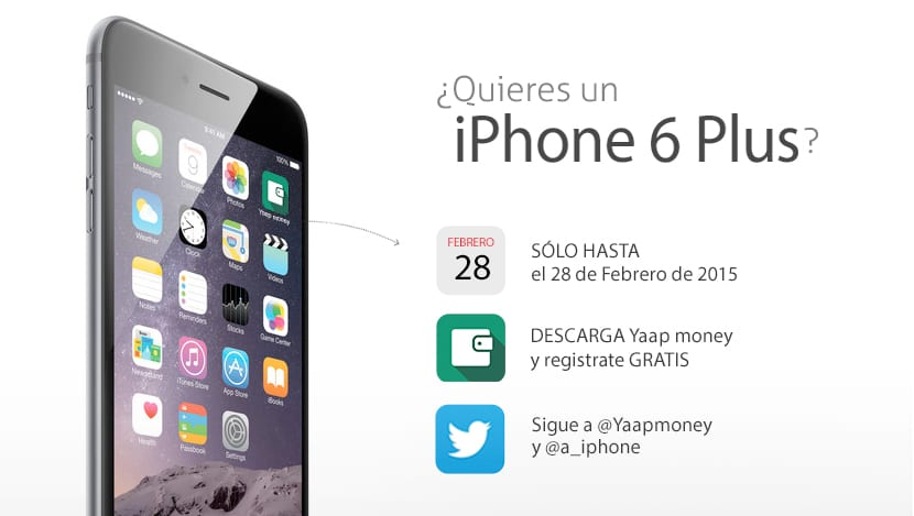 Sorteo iPhone 6 Plus