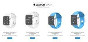 Apple Watch precios euros