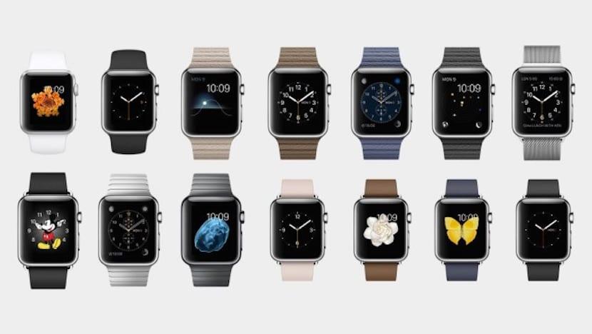 acabados apple watch