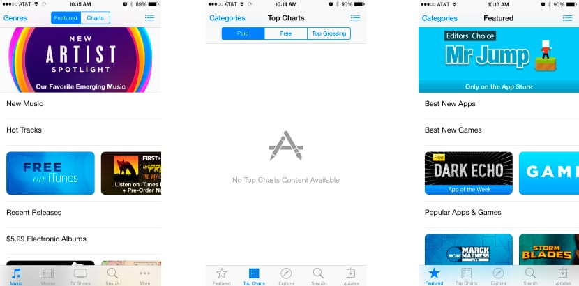 caída-app-store