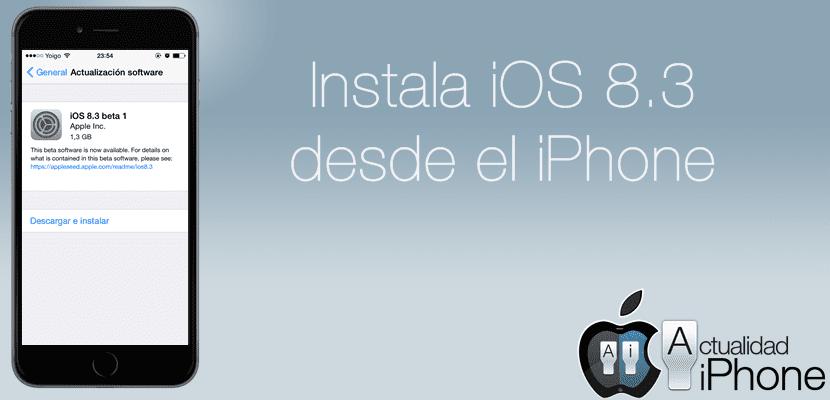 Instala iOS 8.3 en tu dispositivo fuera de USA