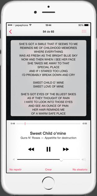 App-musica-ios
