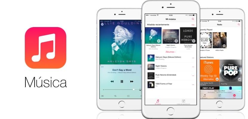 La aplicación Música mejora considerablemente en iOS 9