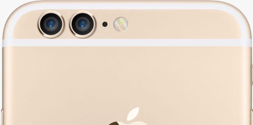 Concepto de iPhone 6s con cámara dual
